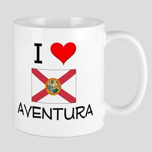 I Love AVENTURA Florida Mugs