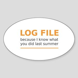LogFILE Sticker