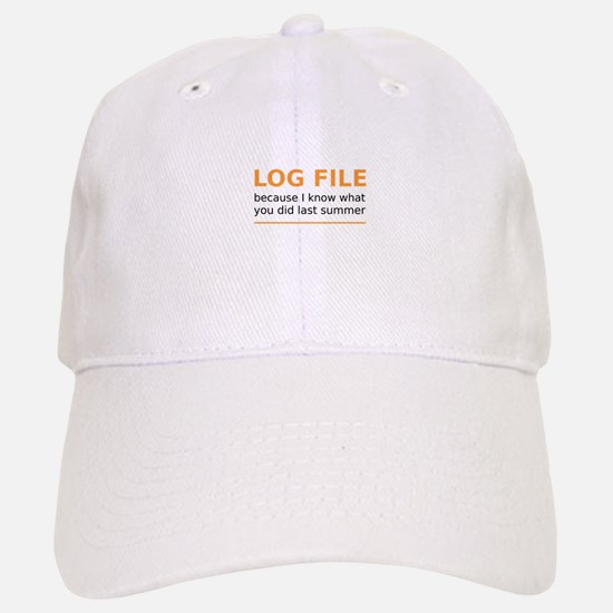 LogFILE Baseball Baseball Cap