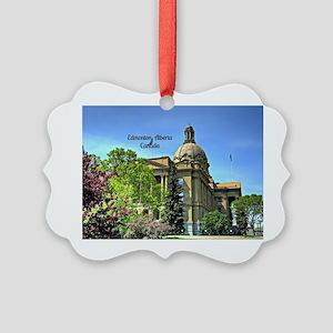 Edmonton, Alberta, Canada Picture Ornament