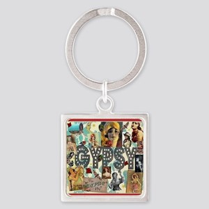 Gypsy Jubilee Square Square Keychain