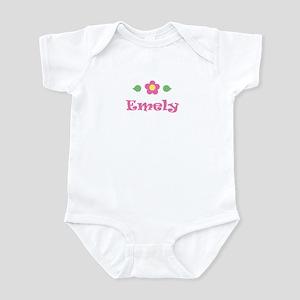 "Pink Daisy - ""Emely"" Infant Bodysuit"