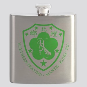 green mantis Flask