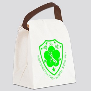 green mantis Canvas Lunch Bag