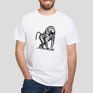 Baboon Sketch T-Shirt
