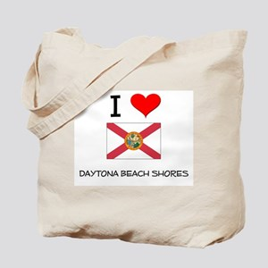 I Love DAYTONA BEACH SHORES Florida Tote Bag