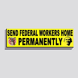 FEDERAL WORKERS Wall Decal