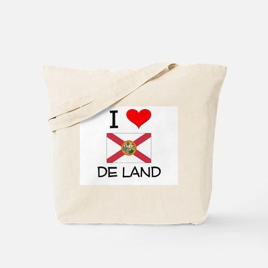I Love DE LAND Florida Tote Bag