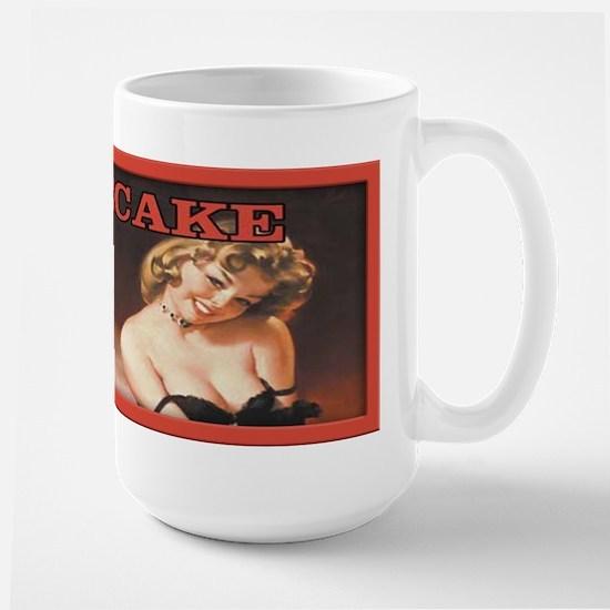Vintage Elvgren Pinup Sexy Girl Large Mug