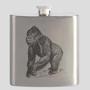 Gorilla Sketch Flask