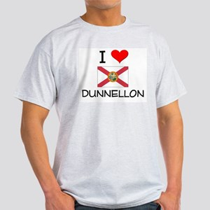 I Love DUNNELLON Florida T-Shirt