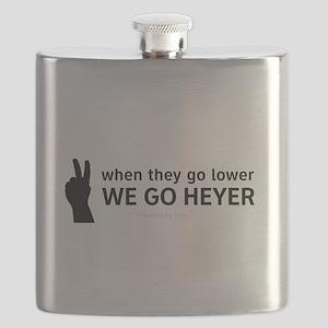 We Go Heyer Flask