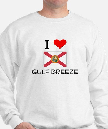 I Love GULF BREEZE Florida Sweatshirt