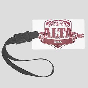 Alta Utah Ski Resort 2 Large Luggage Tag