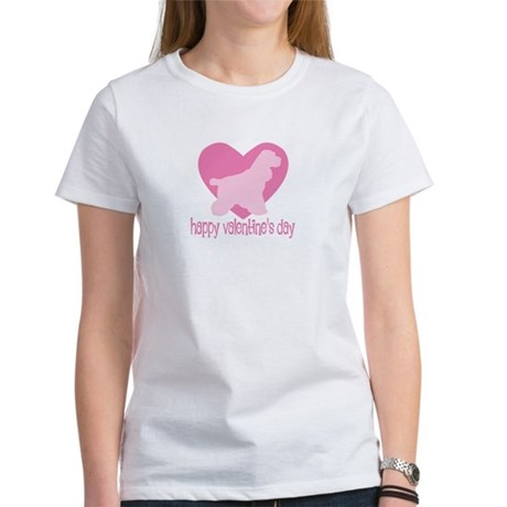 Cocker Spaniel Valentine Women's T-Shirt