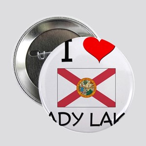 "I Love LADY LAKE Florida 2.25"" Button"