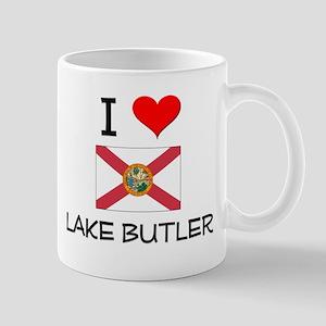 I Love LAKE BUTLER Florida Mugs