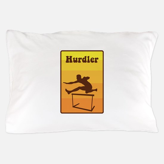 Hurdler Pillow Case