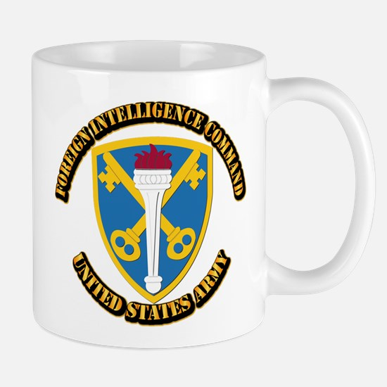 SSI - Foreign Intelligence Command with text Mug