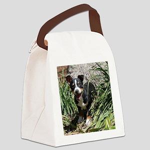 TRT Puppy Canvas Lunch Bag