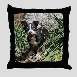 TRT Puppy Throw Pillow
