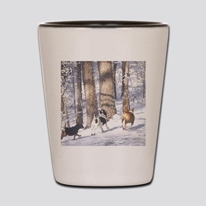 Teddy Roosevelt Terrier Shot Glass