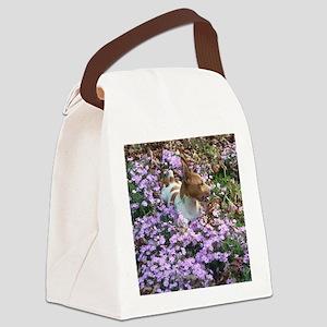 Teddy Roosevelt Terrier Canvas Lunch Bag