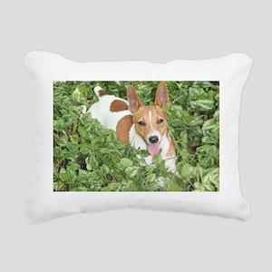Teddy Roosevelt Terrier Rectangular Canvas Pillow