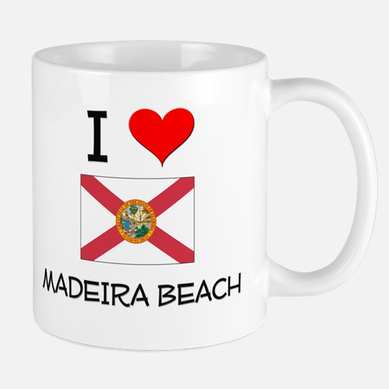 I Love MADEIRA BEACH Florida Mugs
