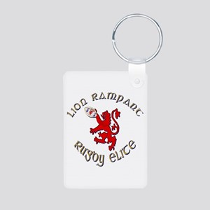 Scottish lion rugby elite Keychains
