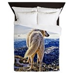 Leader of the Pack - Wolf Queen Duvet