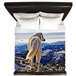 Leader of the Pack - Wolf King Duvet