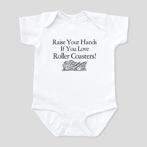 Roller Coaster Infant Bodysuit