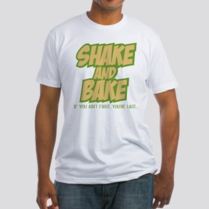 Shake and Bake (light) Fitted T-Shirt