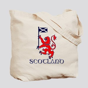 Scottish lion rugby elite Tote Bag