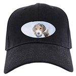 Beagle Black Cap with Patch