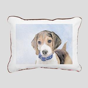 Beagle Rectangular Canvas Pillow