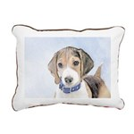 Beagle Rectangular Canvas Pillow