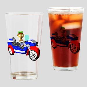 HAPPYMAN TRIKE brighter Drinking Glass