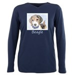 Beagle Plus Size Long Sleeve Tee