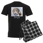 Beagle Men's Dark Pajamas