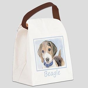 Beagle Canvas Lunch Bag