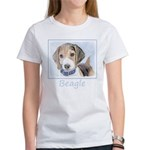 Beagle Women's Classic White T-Shirt