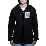 Beagle Women's Zip Hoodie