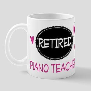Retired Piano Teacher Mug