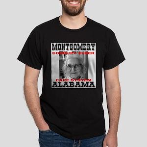 Montgomery Alabama Corrupt El Dark T-Shirt