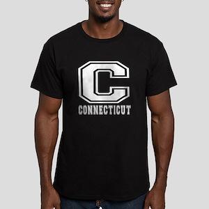 Connecticut State Designs Men's Fitted T-Shirt (da