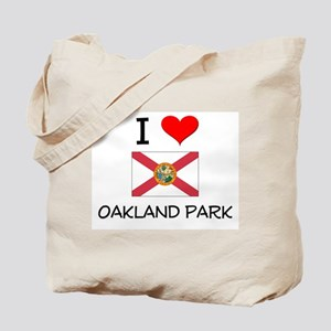 I Love OAKLAND PARK Florida Tote Bag