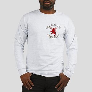 Scottish lion rugby elite Long Sleeve T-Shirt