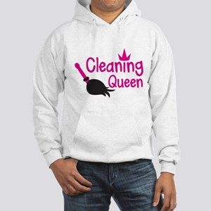 Pink cleaning queen with feather duster Jumper Hoo